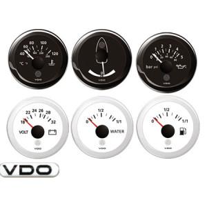 Ammeter VDO Black -60+60A 52mm