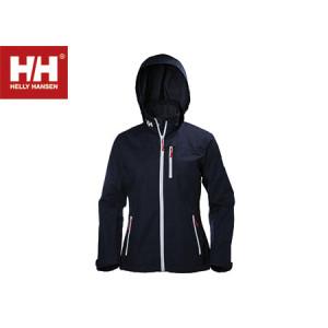white helly hansen crew midlayer jacket woman size S