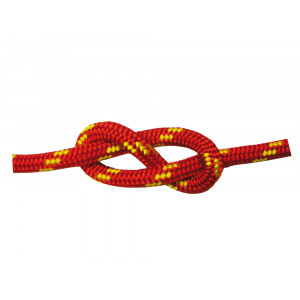 Halyard Rope Double Braid Red Polyester High Tenacity 10 mm