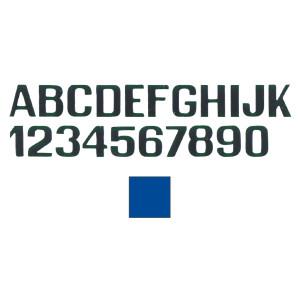 Self Adhesive J Vinyl Letter - Light Blue - 200mm
