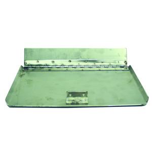 Pair of Universal Stainless Steel Trim Tabs mm.400x230